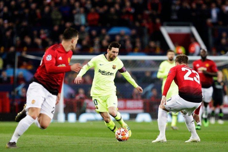 «Манчестер Юнайтед» против «Барселоны»