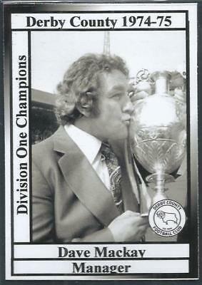 Наследие Клафа «Дерби Каунти» Дэйва Макая сезон 1974/1975