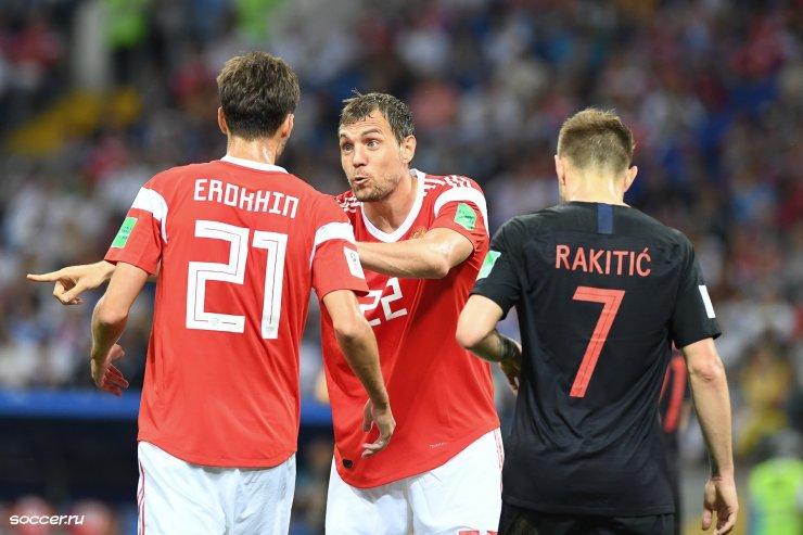 Вылетали от Словении и Хорватии, проигрывали 0:5 Сербии. У сборной России непростые отношения с балканскими командами