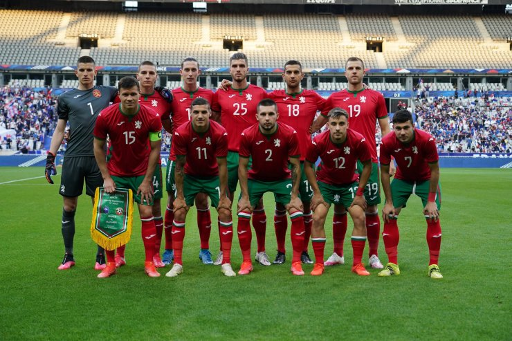 Игроки сборной Болгарии