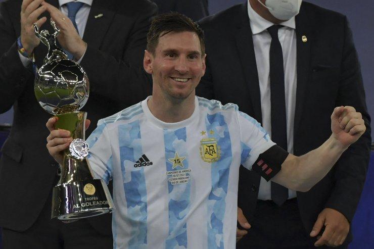 Месси выиграл «Золотой мяч» и Кубок Америки. Создал 9 голов, Аргентина выиграла трофей 28 лет спустя
