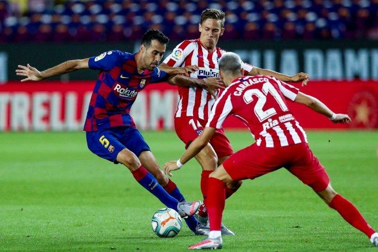 «Барселона» и «Атлетико»