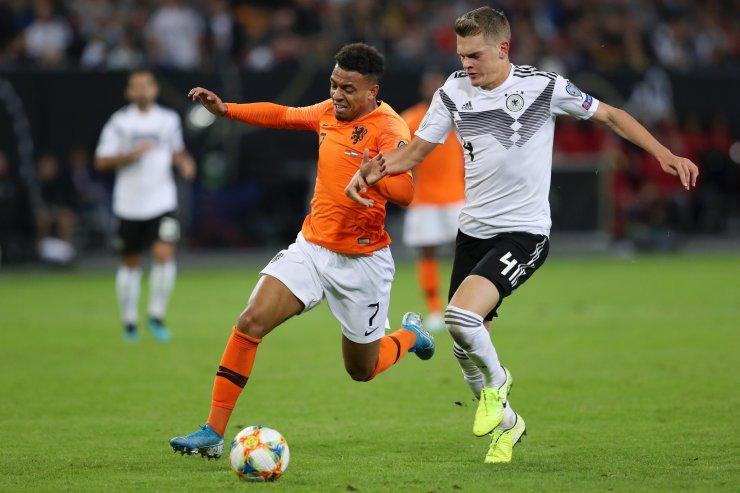 Сборные Голландии и Германии