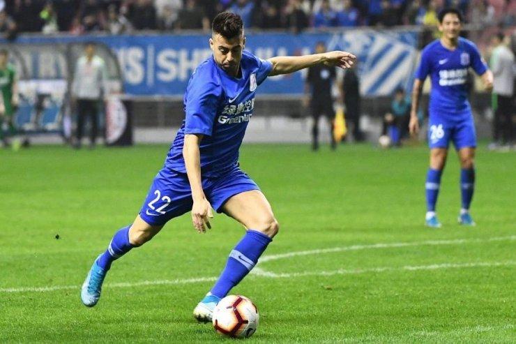 Итальянский игрок «Шанхай Шэньхуа» Эль-Шаарави