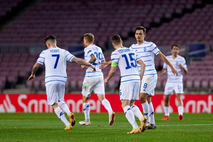 Игроки «Динамо» Киев