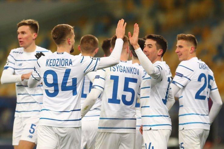 Игроки киевского «Динамо»