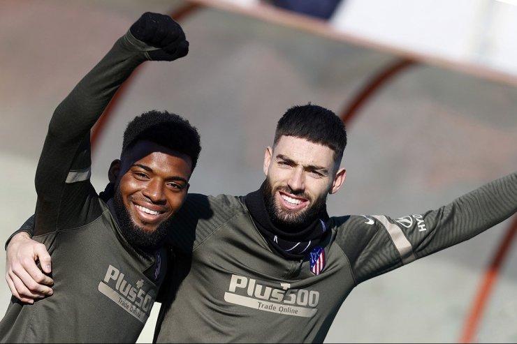 Игроки «Атлетико»