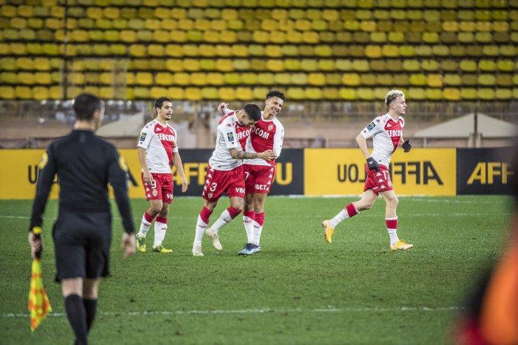Игроки «Монако»