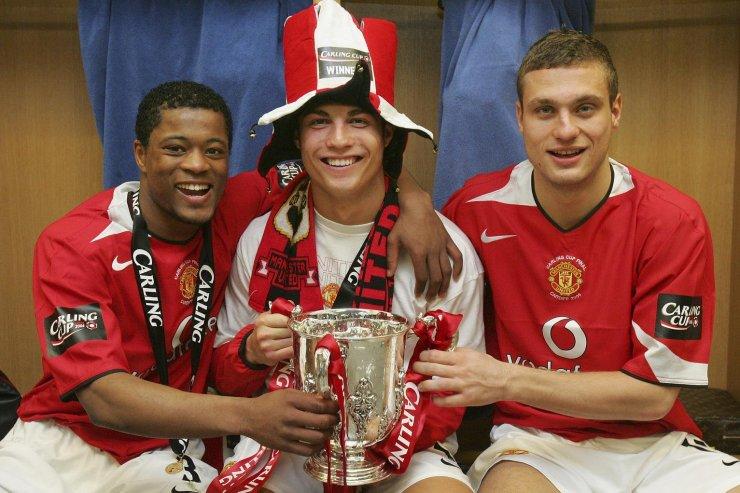 Эвра, Роналду и «Манчестер Юнайтед»