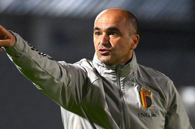 Тренер сборной Бельгии Мартинес