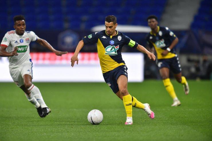 Момент из матча «Лион» - «Монако»