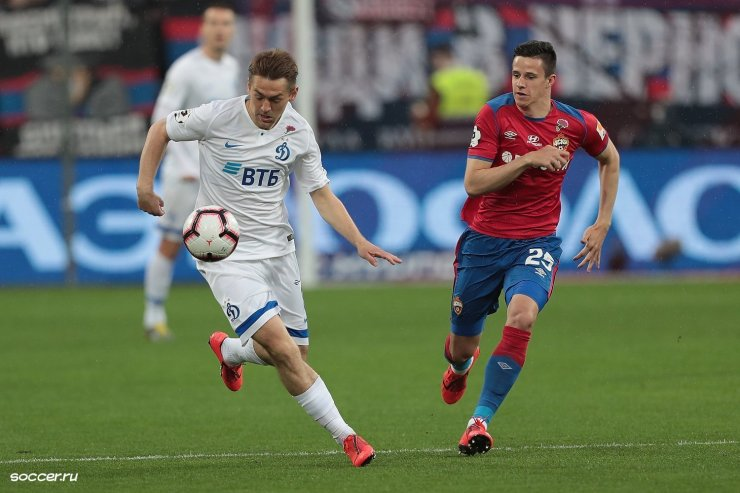 ЦСКА и «Динамо»