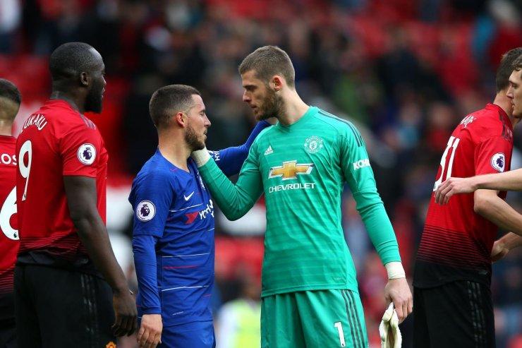 «Манчестер Юнайтед» и «Челси»