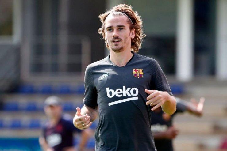 Футболист «Барселоны» Антуан Гризманн
