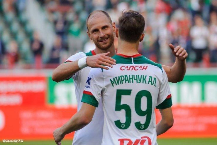 Бенедикт Хеведес и Алексей Миранчук
