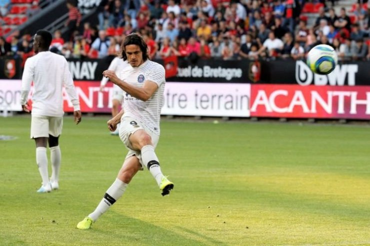 Уругвайский нападающий ПСЖ Кавани