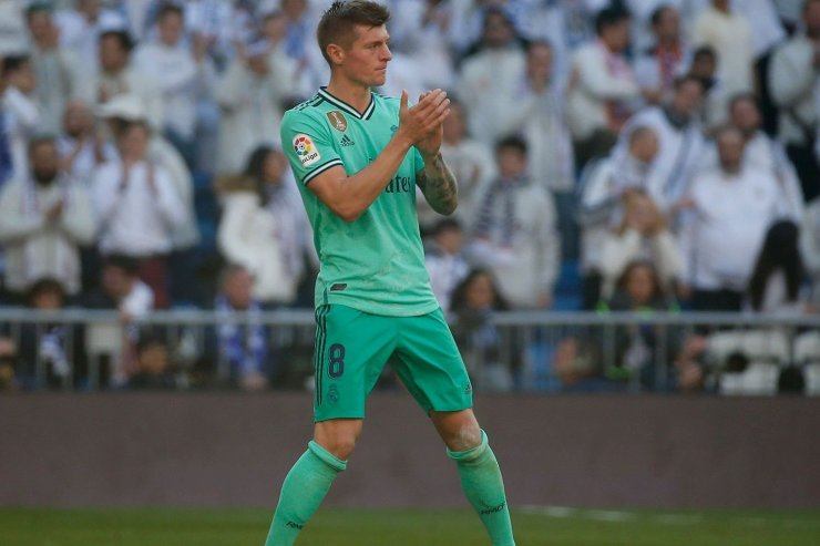 Немецкий хавбек «Реала» Тони Кроос