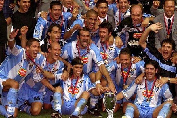 Игроки «Лацио», которые выиграли Суперкубок УЕФА в 1999-м