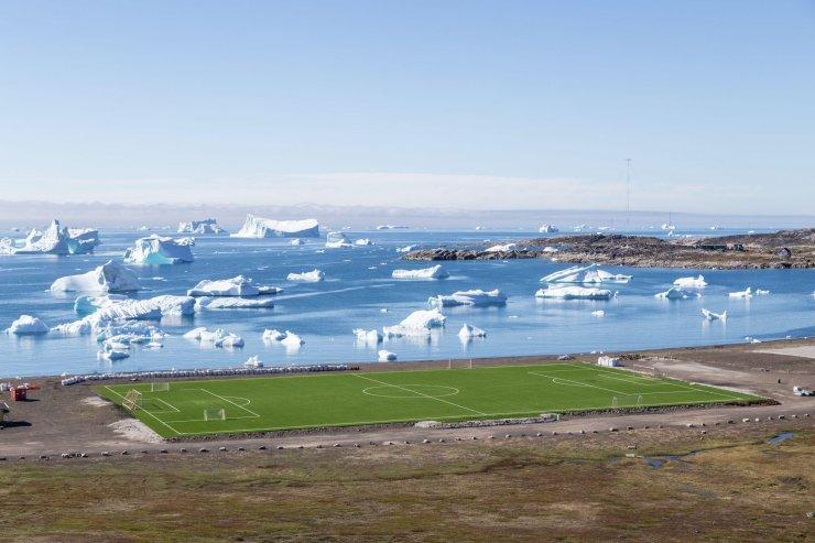 Поле в Гренландии