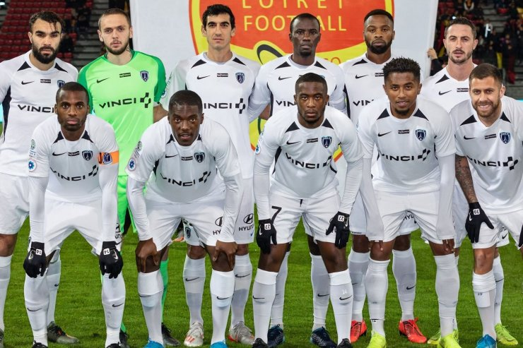Футболисты «Парижа»