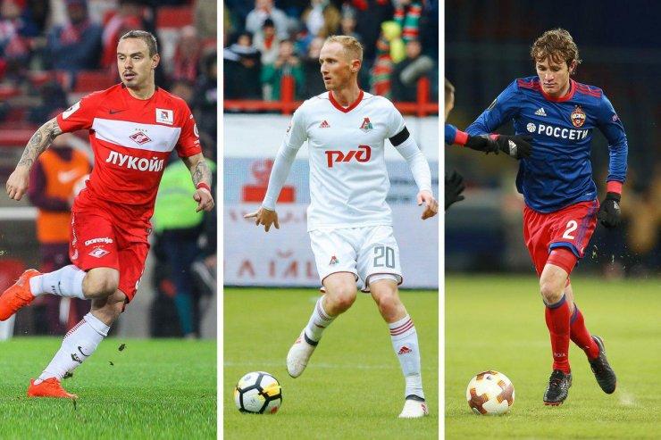 Крайние защитники для сборной РФПЛ