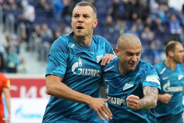 Дзюба и Ракицкий