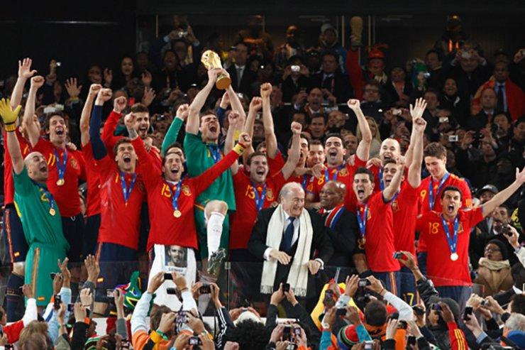 Испания - чемпион мира-2010
