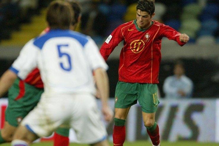 Роналду против российской сборной