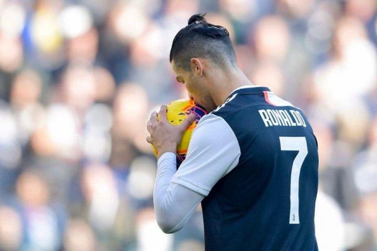Нападающий «Ювентуса» Роналду