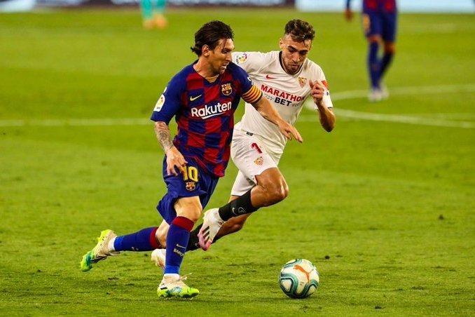 «Барселона» и «Севилья»