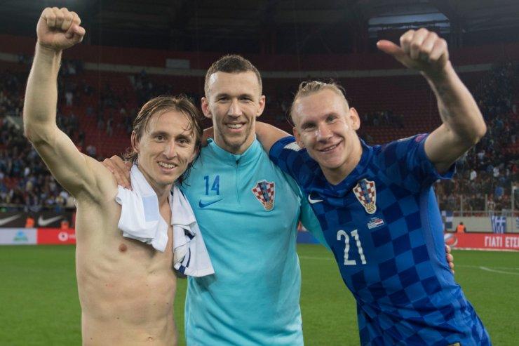 Хорваты на ЧМ-18. Звёзды «Реала» и «Барселоны» вместе