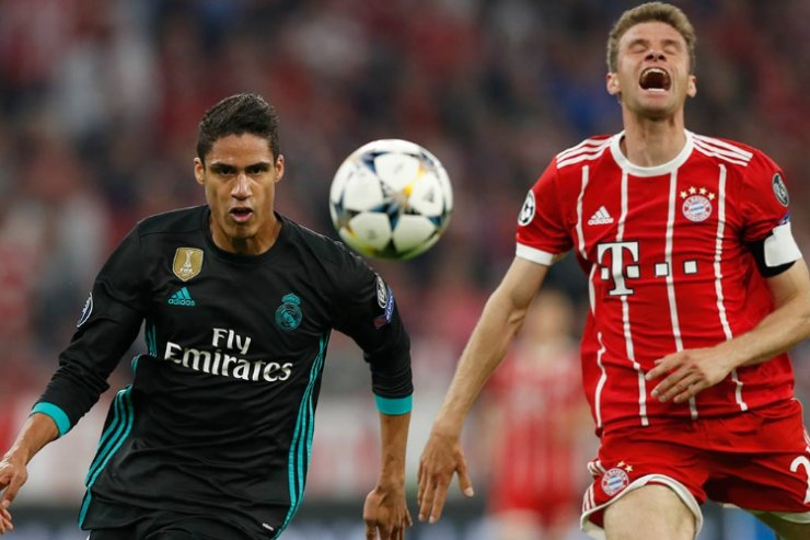 Роналду не забил, но «Реал» снова победил «Баварию»