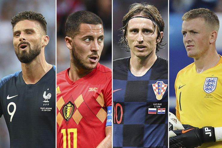 Франция, Бельгия, Хорватия, Англия – выбираем чемпиона