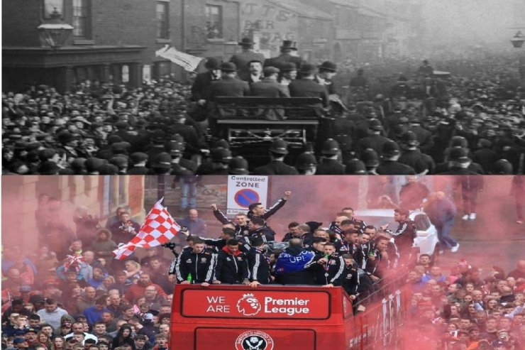 Чемпион Великобритании «Шеффилд Юнайтед» - сезон 1897/1898.