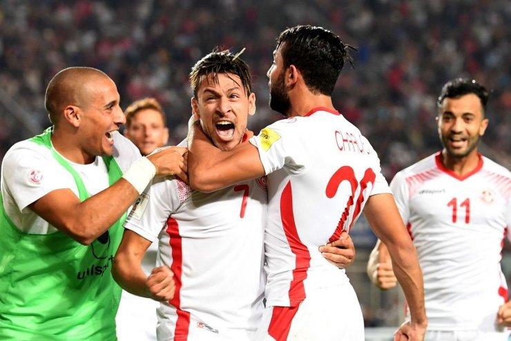 Игроки сборной Туниса
