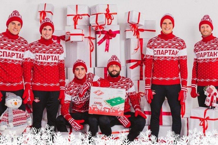 Игроки «Спартака»