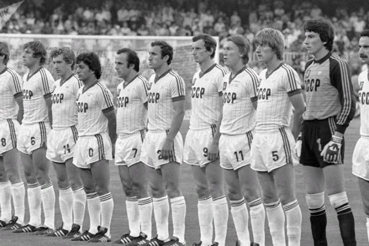 Советские футболисты на Чемпионате мира 1982 года