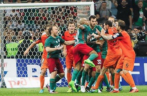 Драки в российском футболе