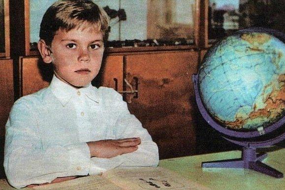 Игорь Акинфеев в детстве