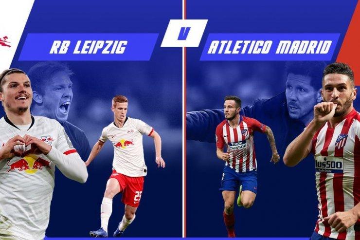 «Лейпциг» - «Атлетико»