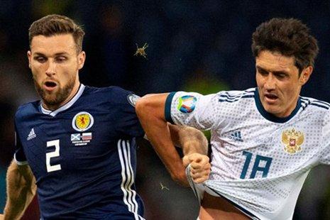 Жирков против шотландца