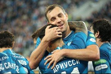 Гол Дзюбы и два пенальти - «Зенит» обыграл «Арсенал» (фото)