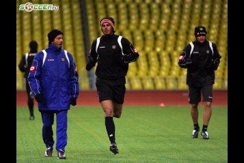 Тренировка «Удинезе» перед матчем с ФК «Спартак» (06.11.2008)