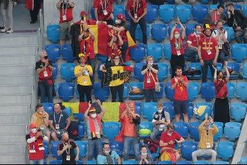 Дзюба в борьбе и перебинтованный Кузяев. Россия крупно уступила Бельгии в первом матче Евро-2020 (фото)