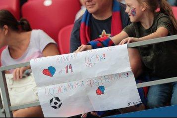 Красивые девушки, VAR и пенальти. ЦСКА обыграл «Локомотив» (фото)