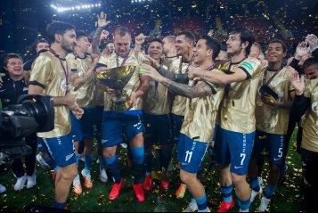Счастливый новичок Ловрен, собранный Вилков и капитан Дзюба. «Зенит» обыграл «Локо» и завоевал Суперкубок России
