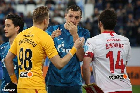 Максименко, Дзюба и Джикия