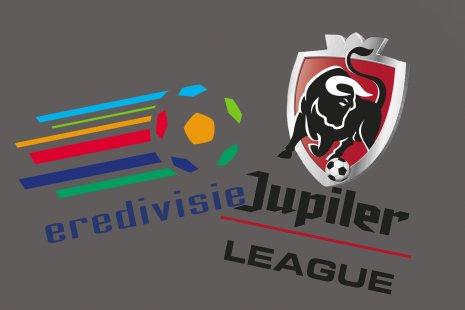 Логотипы Эредивизие и бельгийской Про-Лиги