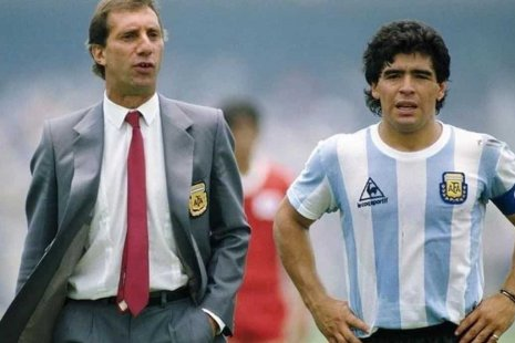 Билардо и Марадона