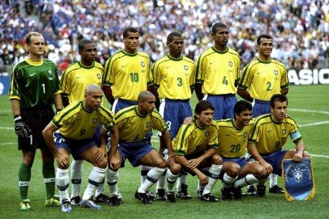 игроки сборной Бразилии на ЧМ-98